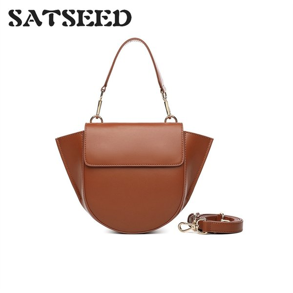 2018 Autumn and Winter New Fashion Single Shoulder Portable Soft Solid Messenger Fashion Elegant Leisure Minimalism Style #48853