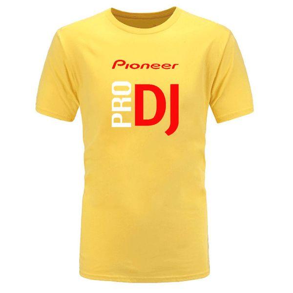 mens designer clothes brand polo BAIJOE DJ style Pioneer O-NECK T-shirt Men new summer fashion tshirt for Pioneer DJ PRO T Shirt Tees