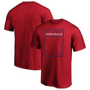 Camisa vermelha de St Louis dos homens 039 s na camiseta