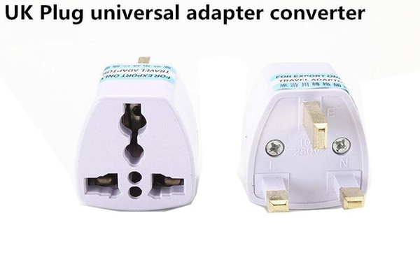 top popular US EU AU UK Plug Adapter United Kingdom Universal AC Travel Power Adapter Converter Electrical 2021