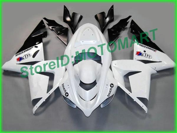 Corpo Para KAWASAKI NX ZX 10 R ZX10R 04 05 06 07 ZX 10R ZX1000 C ZX1000C 04 ZX-10R 2004 2005 Carenagem KA23