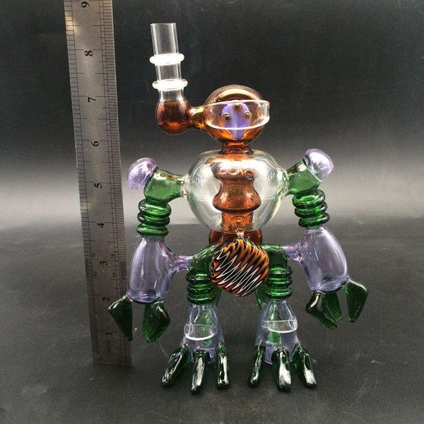 로봇 유리 봉
