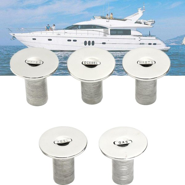 Marine Boat Deck Fuel Boat Deck Fill//Filler with Cap 85mm//3.35inch