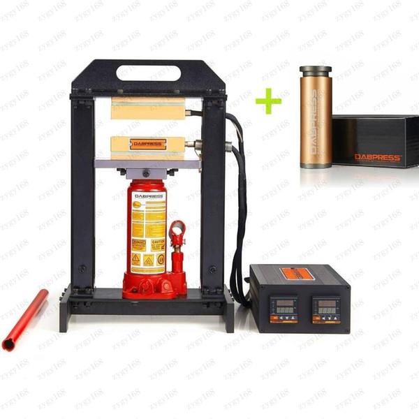 Vendita calda 6-Ton idraulica Rosin stampa 3x5 pollici dual riscaldamento Rosin Press Piastre All-in-One Rosin Tech pressa di calore di trasporto