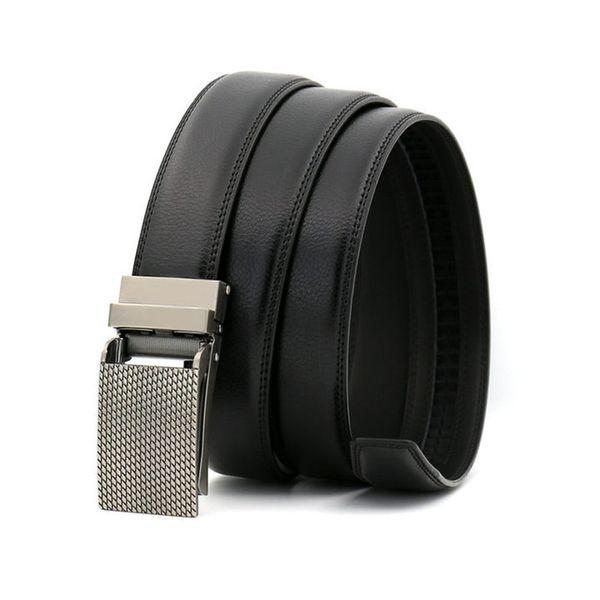Fashion Leisure Belts Fish Scale Design Buckle Luxury Waist Belt Men Women Genuine Leather Straps Unisex Hip Hop Jeans Belt
