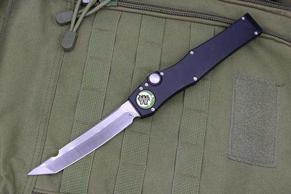 herramienta de defensa propia supervivencia de la caza de Halo-5 Asa 5Cr aluminio de la lámina de bolsillo automático cuchillo táctico militar el equipo de camping al aire libre Equipo