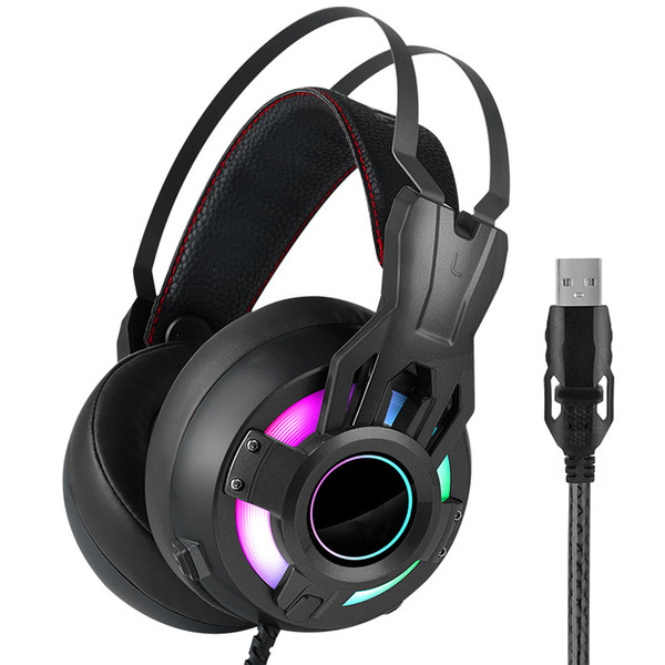 E-sports headset game player voice cancel noise reduction headphones wired headset microphone PS4 computer mobile phone