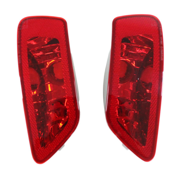 top popular Car replacement parts external left right rear tail bumper reflector Lamp fog light for jeep compass 2011 2012 2013 2014 2015 2019