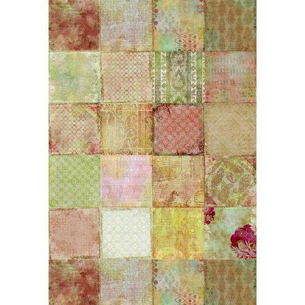5x7FT Vintage Square Pattern Стены Шашки Пользовательские Фотографии Фон Студия Фоны Винил 150 см х 220 см