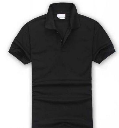 Bañera de la marca para hombre Top cocodrilo bordado Polo de manga corta polo sólido polo de los hombres de los hombres delgados Polos Camisas talla de la camiseta S-3XL