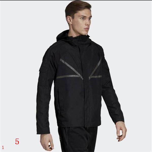 Veste coupe-vent Veste à capuche manches longues vent Manteaux Vestes Homme Vestes rue Manteaux poussière de 2 couleurs en gros Clothes5