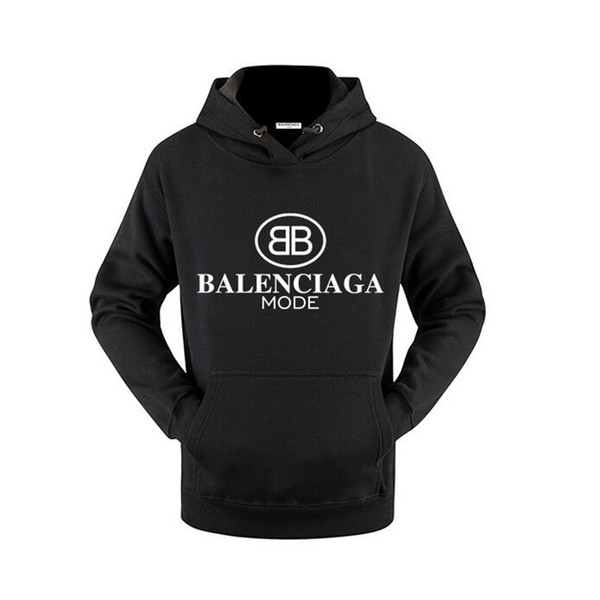 New 19ss Männer FashionBalenciaga Luxury women Men Hip Hop Hoodies brand pp fends jacket tracksuit Tops sweaters Designers Clothing Pullover