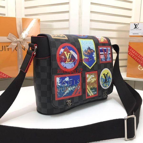 2019 brand fashion bags nostalgic print applique messenger bag handbags purses women High quality handbags for women ABC-46