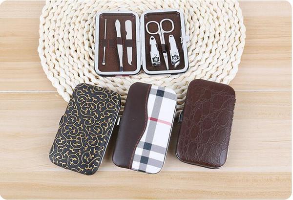 Nuevo 6 Unids / set Nail Art Care Tool 400 Unidades Set de Manicura Pedicura Nail Clipper Kit Maquillaje Accesorios de Belleza Herramientas de Uñas