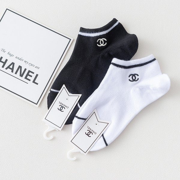 calze da uomo di design da donna con le stesse calze marini Calze da barca da ricamo personalizzate lettere basse per aiutare la bocca poco profonda