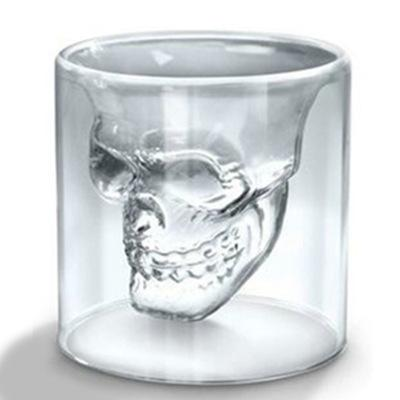 Transparant Skull Glass Wine Cup Creative Bar Beer Steins Red Tea Cup Home Party Drinking Juice Cup