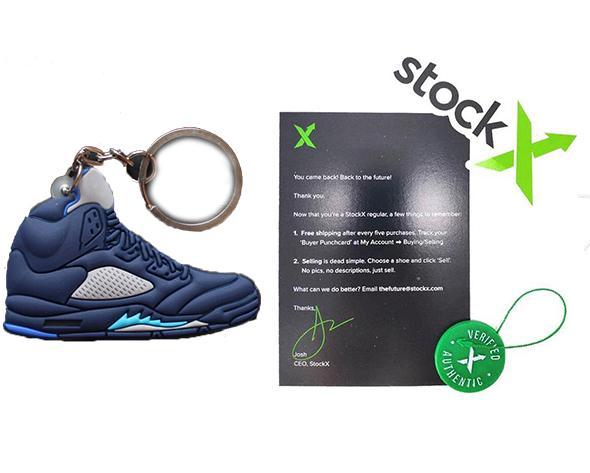Anahtarlık + Stockx etiketiyle
