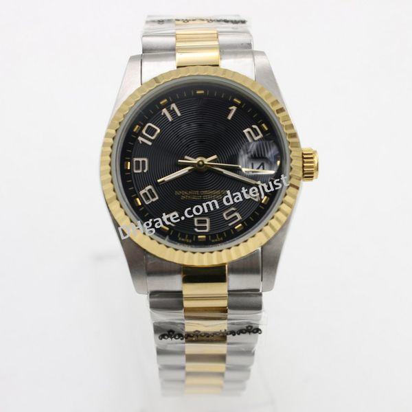 wristwatch Rolis men 36mm DATEJUST automatic mechanical watch No battery sweeping movement model watches 94