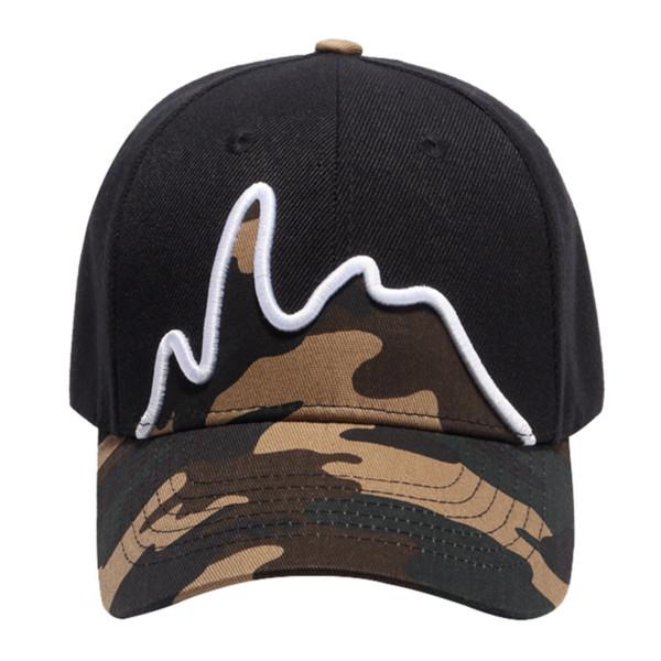19 men and women army camouflage camo cap casquette hat male female climbing baseball cap boys girls hunting fishing desert hat thumbnail