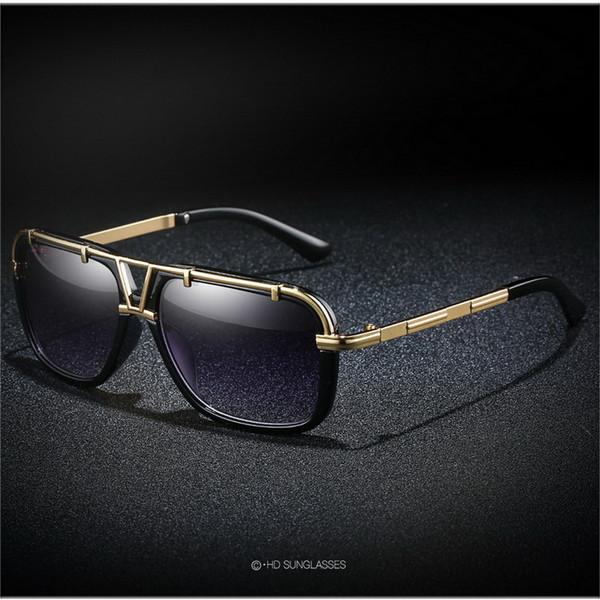 Lüks Vintage Kare Polarize Güneş Gözlüğü Kadın Erkek İkiz Işın Güneş Gözlükleri Bayanlar Shades ulculos Feminino UV400 Z247