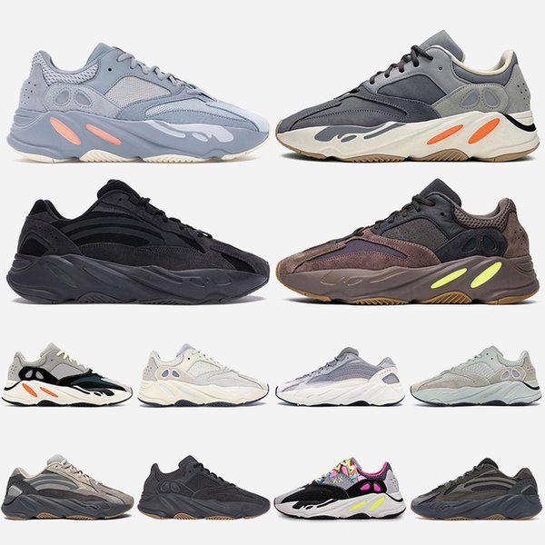 New Fashion Women Mens Running Shoes Wave Runner Magnet Inertia Static Vanta Mauve Tephra Kanyewest Trainers Designer Sneakers Size 36-46