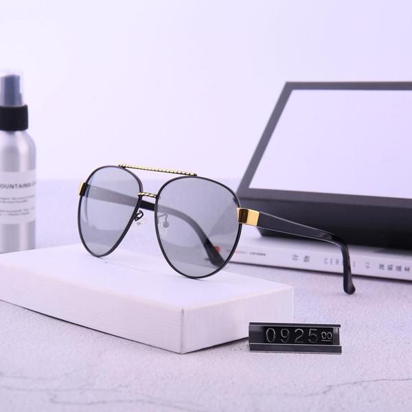 2019 NEW Luxury Polarizing occhiali da sole lenti polaroid per uomo rivestimento vero colore G 3g letters donna e occhiali da sole tendenza moda 0925