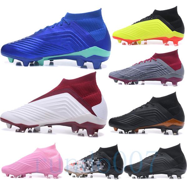 Neue 2019 Steigeisen Fußballschuh Raubtier 18+ Stiefel Herren Scarpe Da Jugend FG Fußball Sportschuhe Running Scarpe Sneakers Chaussures