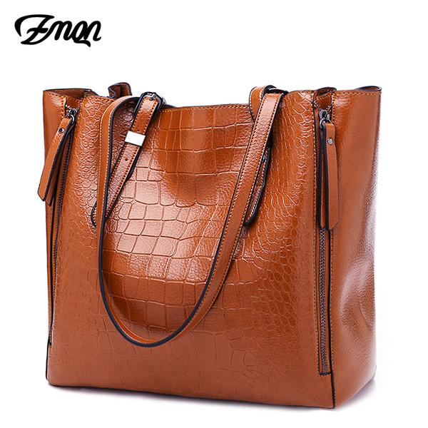 Zmqn Luxury Handbags Women Bags Designer Leather Handbag Shoulder Bags For Women 2019 Brand Ladies Hand Bags Bolsa Feminina C647 J190709