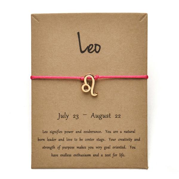 Tarjeta Rose Gold Leo-Gold