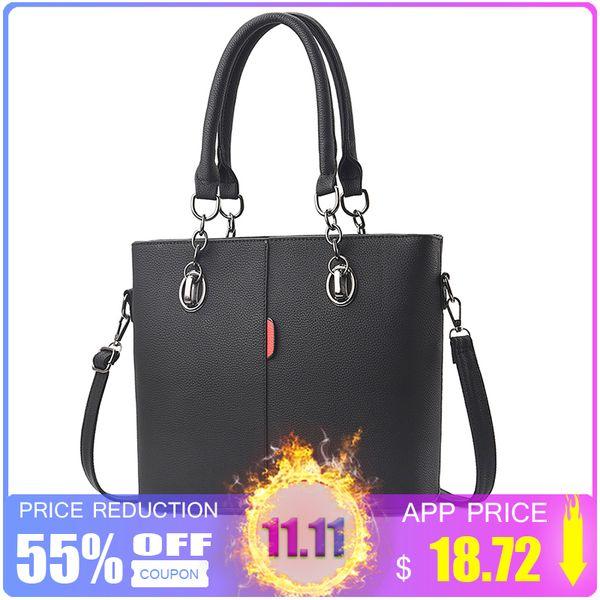 2019 Fashion ZMQN Female Designer Bags Handbags Women Famous Brands 2018 Chain Lady Hand Bags for Women's Leather Black Crossbody Bag Bolsos