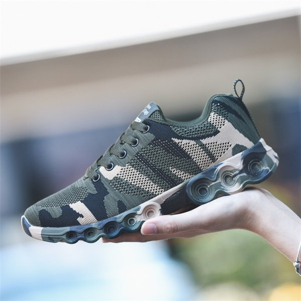 New flying casual men shoes 2019 walking Camouflage Blade jogging shoes British style man fashion canvas shoes spring zapatillas hombre
