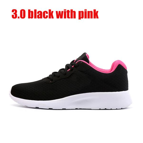 3.0 negro con el símbolo rosa 36-39