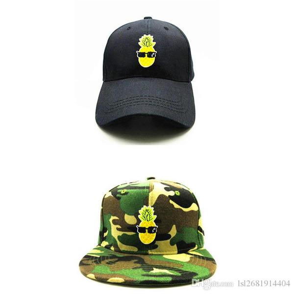 Pineapple Adjustable Snapback Baseball Caps