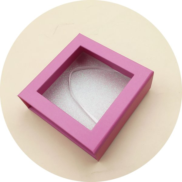 Luxury Private Label Custom False Eyelash Packaging Box
