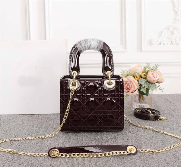 New arrival women fa hion color elegant lady pur e bag houlder female vintage hoppign bag 17cm cro body bag