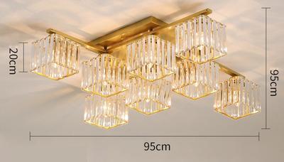 Dourado 8 luz