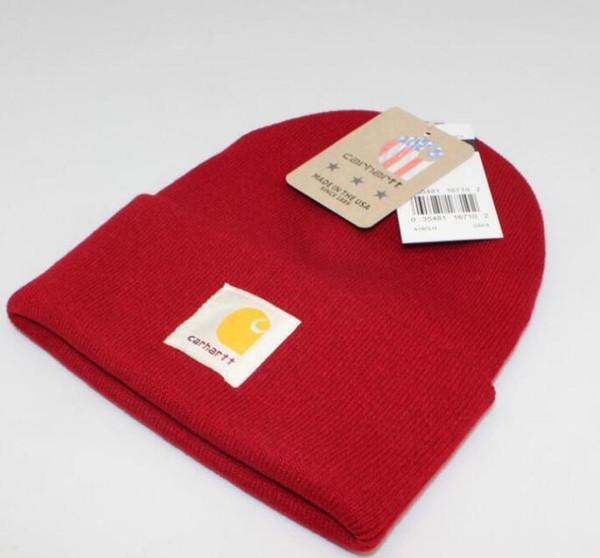 Carhartt marca designer de moda de luxo Gorro cap inverno malha de esqui de golfe gorro de lã ouHeadgear Cocar Cabeça Mais Quente Esqui quente hatXXL