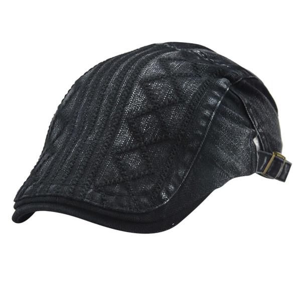 Beret Femme Winter Men Women Outdoor Vintage Ajustable Gatsby Peaked Cap Newsboy Hat Berets Caps For Women Femme Hiver 2018 Y30
