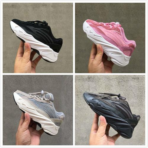 2019 New Kids 700 for Kid Sports Chaussures Pour Enfants Trainers Children Sneakers Child Sneaker Boys Athletic Youth Running Shoes