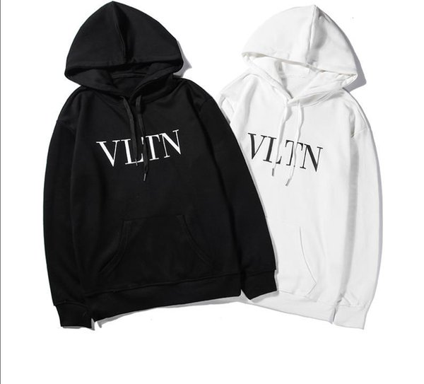 2019 Unisex Winter Autumn Fashion Vetements Oversized Embroidery France Flag Hip Hop Hooded Haute Couture Sweatshirts Long Sleeve Hoodie