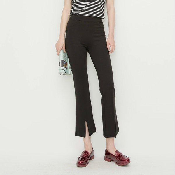 Mooirue Suit Flare Pants Woman Black High Waist Slim Elastic Trousers Office Ladies Ankle Pants Formal Fashion Plus Size Bottom
