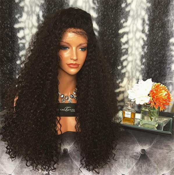 8A Malaysian Full Lace Human Hair Wigs For Black Women Body Wave Lace Front Human Hair Wig With Baby Hair Glueless