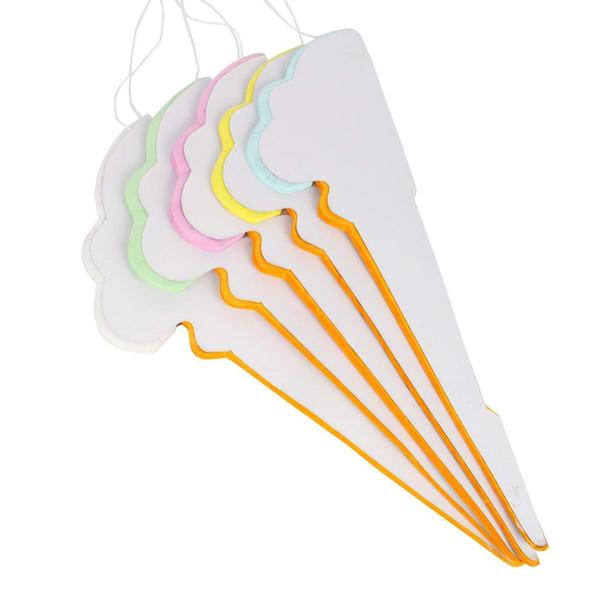 Partito Hanging Ice Cream Carta velina Honeycomb sfera Matrimonio Compleanno Set Decoration 5 mix