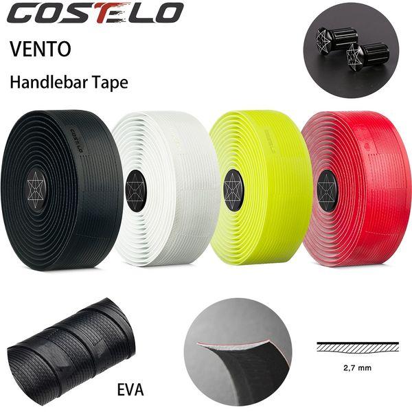Costelo VENTO SOLOCUSH TACKY 2.7mm waterproof Road Bicycle Handlebar Tape Cycling Handle Belt Bike Grips Anti-slip