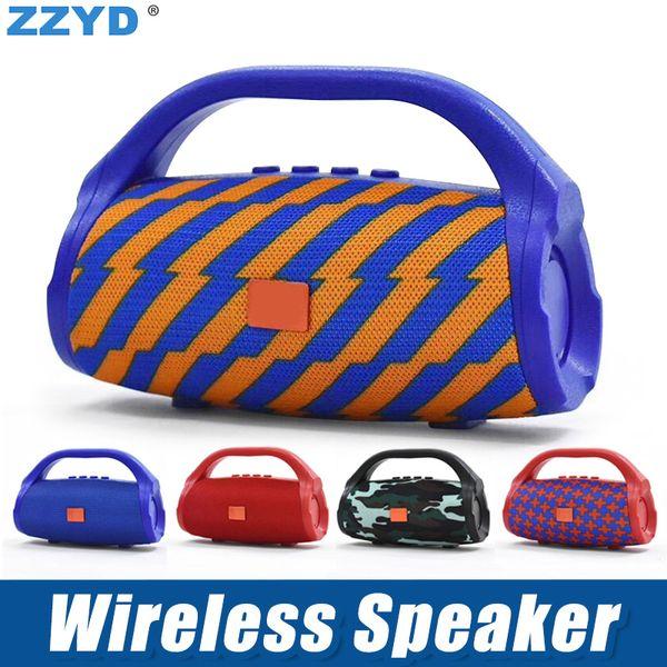 ZZYD BS118 Bluetooth Haut-Parleur Portable Lecteur Audio sans fil Mains Libres Son Subwoofer Haut-parleurs Extérieur Pour La Musique MP3 Lecteur Avec Boîte