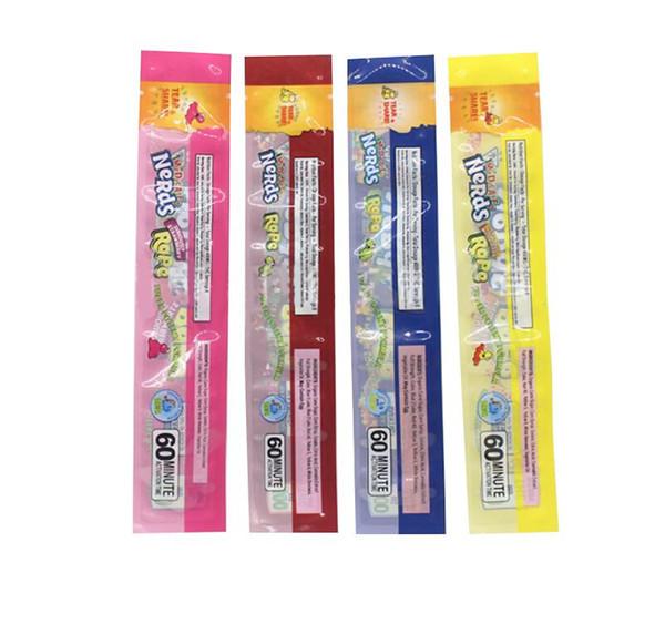 top popular Nerds Rope Empty Packaging bags NeRds ROPE exotic candy bag Nerds Rope Candy Nerdsrope Gummy bags 2020