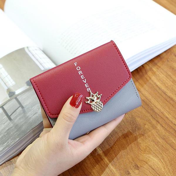 MM FOND pu leather bling design women mini size wallet good quality good touching girl fashion money clip big volume wallet A145