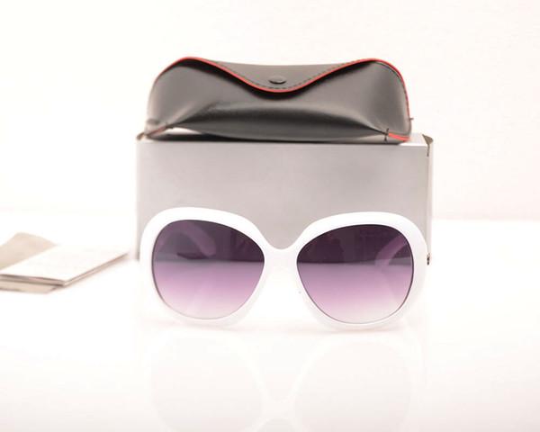 white Frame Grey Lens