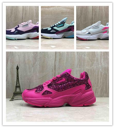 Livraison gratuite Nouveau Falcon W Femmes Chaussures De Course Pour Haute Qualité femmes chaussures luxe designer baskets Originaux jogging à l'extérieur Taille 36-40