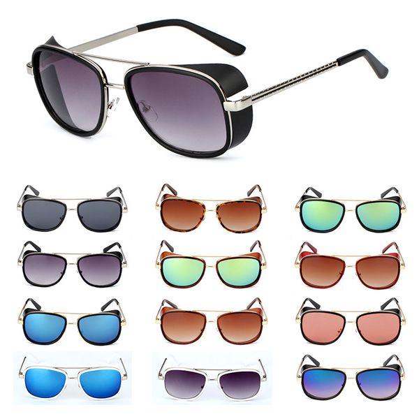 Iron Man 3 Matsuda TONY Stark Sunglasses Men Women Leopard Design Fashion Sun glasses Rossi Coating retro Vintage Designer Eyewear UV400